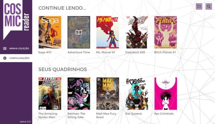 """cosmic - Dupla cearense cria """"Netflix dos quadrinhos"""" para estimular o consumo de HQs"""