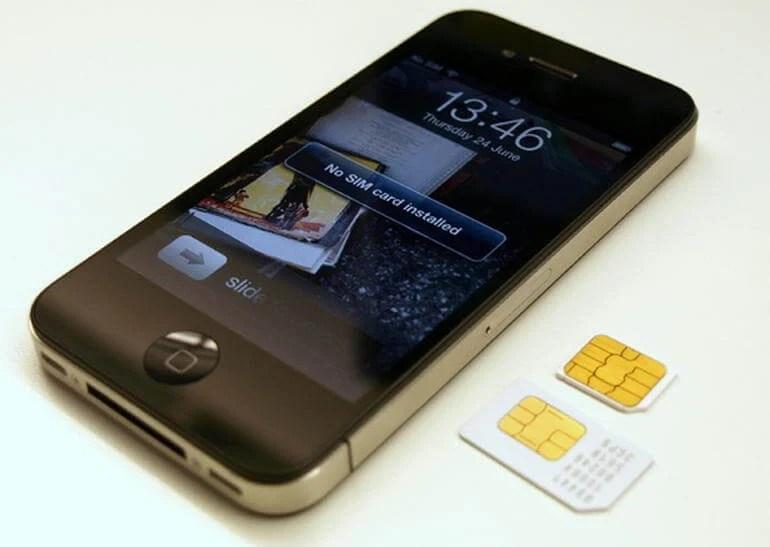 sim card iphone - Apple e Samsung devem fazer o chip SIM desaparecer