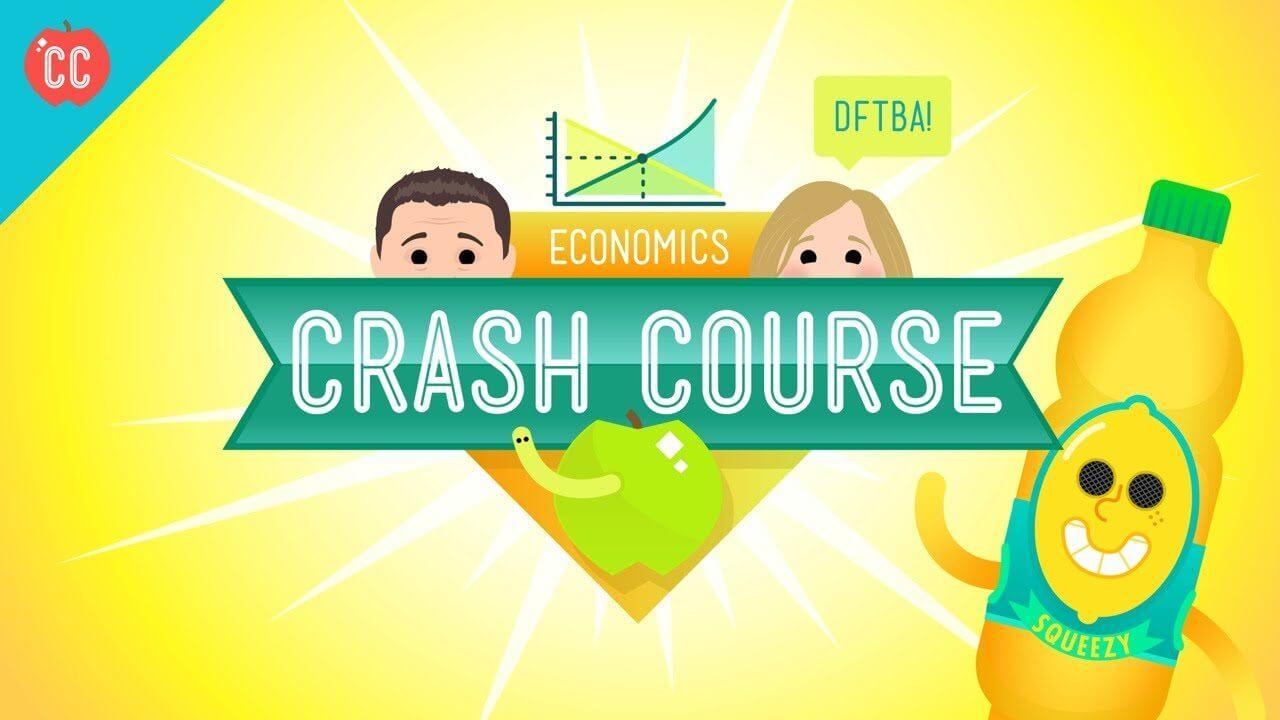 crash course economics - É hora de entender a economia com o pessoal do Crash Course