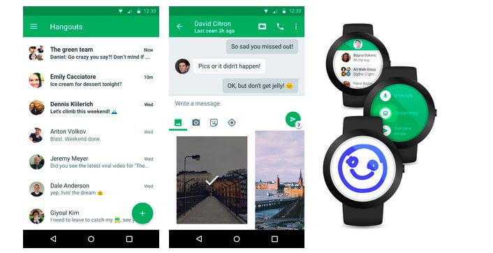 hangouts 4 - Google Hangouts 4.0: conheça a novíssima versão do app