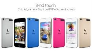 Apple Brasil começa a vender o novo iPod Touch 12