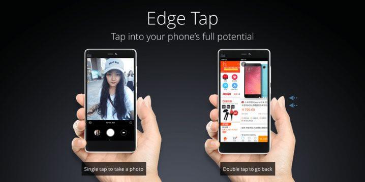 edge tap xaomi mi 4c - Conheça o Mi 4c, novo smartphone topo de linha da Xiaomi