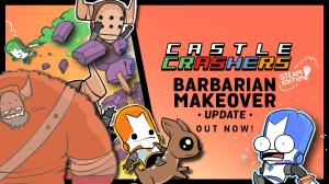 castle crashers barbarian makeover - Castle Crashers: Barbarian Makeover traz novidades da versão Xbox One para o PC
