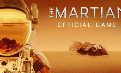 promotional key art - The Martian: jogo para Apple Watch, iOS e Android