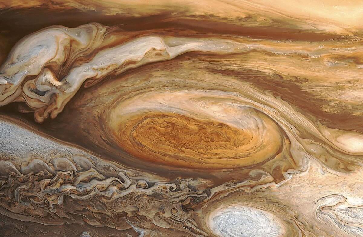 smt jupiter p1 - Bonito na foto: Hubble capta incríveis imagens da Grande Mancha Vermelha de Júpiter