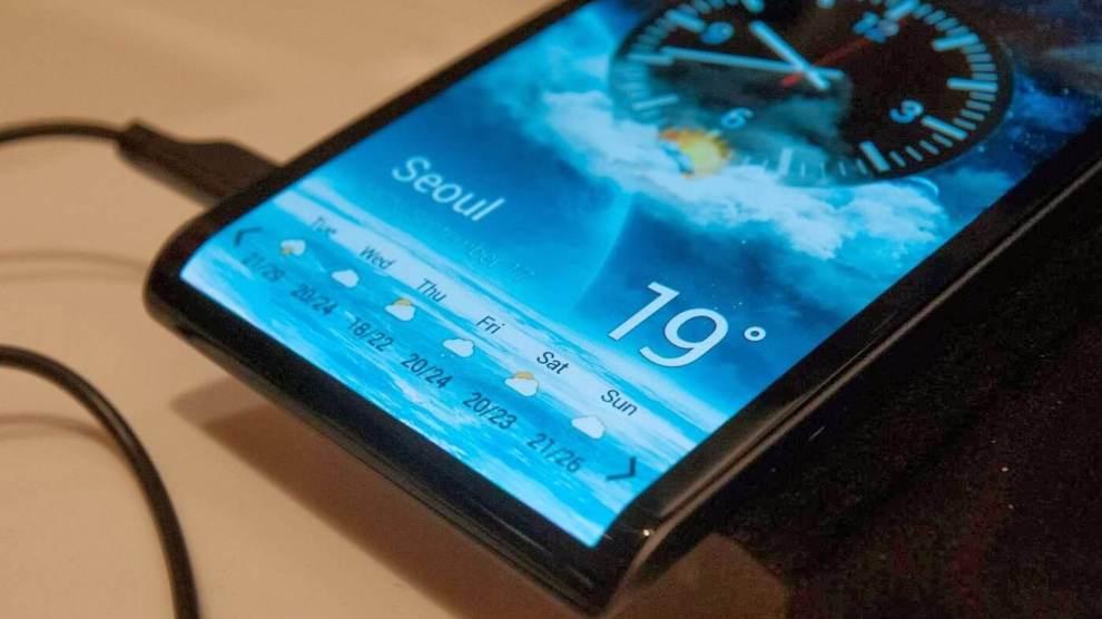 Novos limites? Samsung registra patente de smartphone com tela curva na parte inferior 3