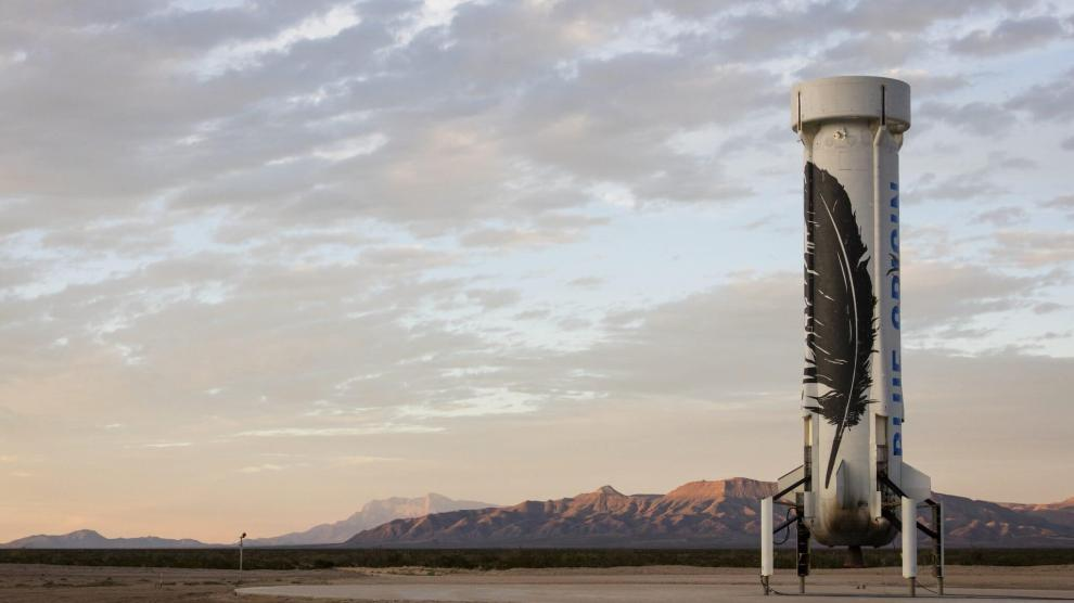 Foguete de Jeff Bezos sai na frente na batalha da Corrida Espacial do século XXI 8