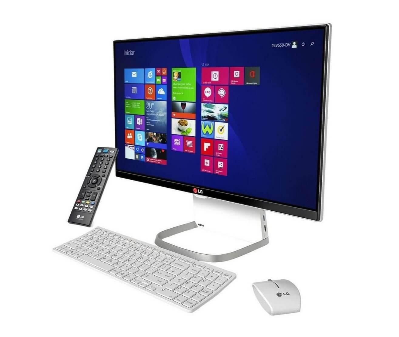 smt allinonelg gal slice - Review: conheça o PC All-in-One da LG (All in One 27v750)