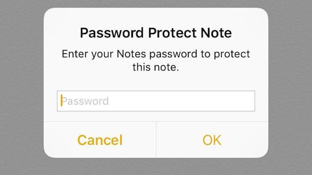 senha notes - iOS 9.3: as principais novidades