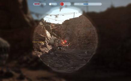 Starwarsbattlefront cena gameplay missao 4