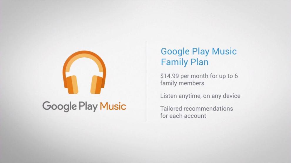 google nexus event 55 - Google Play Music lança Plano Família no Brasil