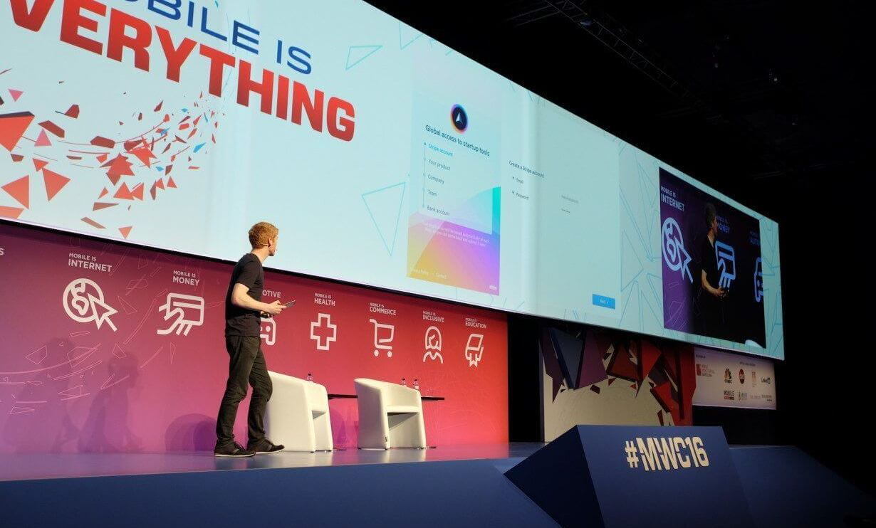 Stripe Atlas Mobile World Congress empresa startup company