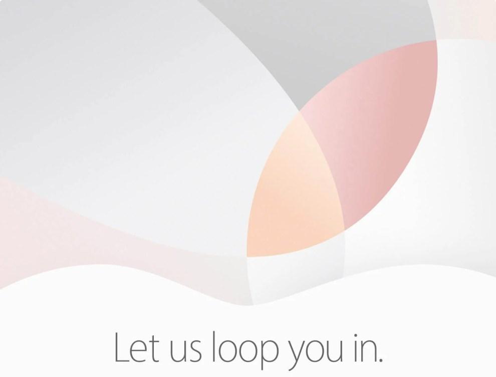 apple evento 21 marco 2016 - Apple marca evento para 21 de março; Novo iPhone e iPad podem ser anunciados