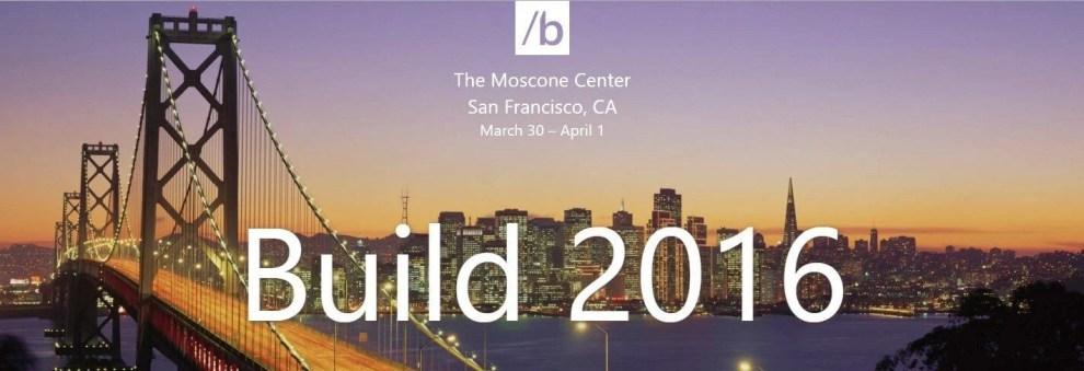 build 2016 - Ao Vivo: Acompanhe o Build 2016 da Microsoft