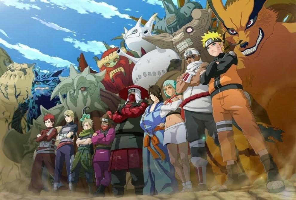 naruto online 01 - Naruto Uzumaki chega ao seu navegador em um MMORPG online e gratuito