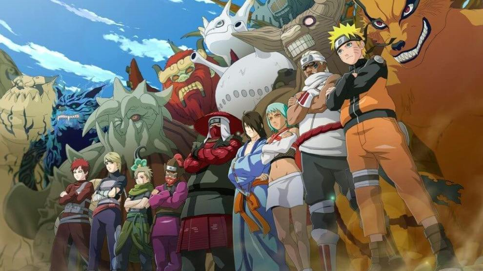 Naruto Uzumaki chega ao seu navegador em um MMORPG online e gratuito 8