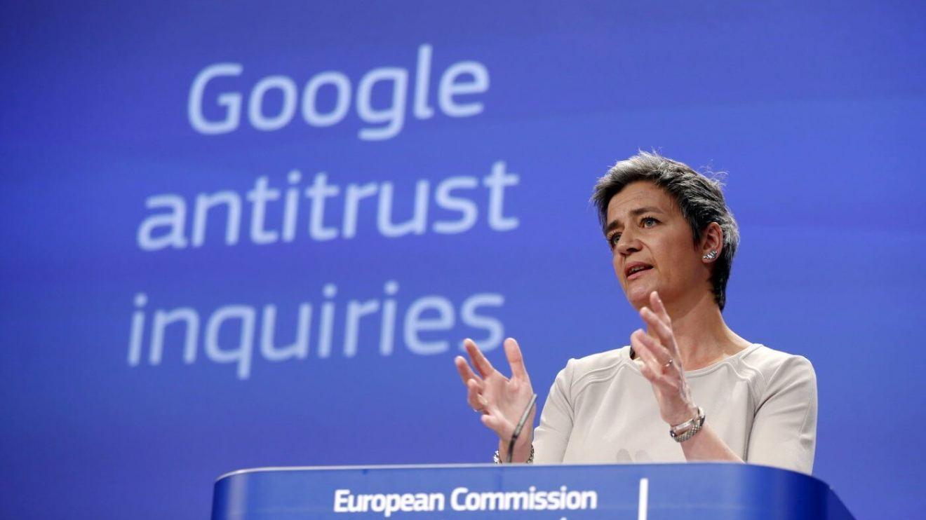 rtr4xf1k jpeg - Europa formaliza denúncia antitruste contra o Google