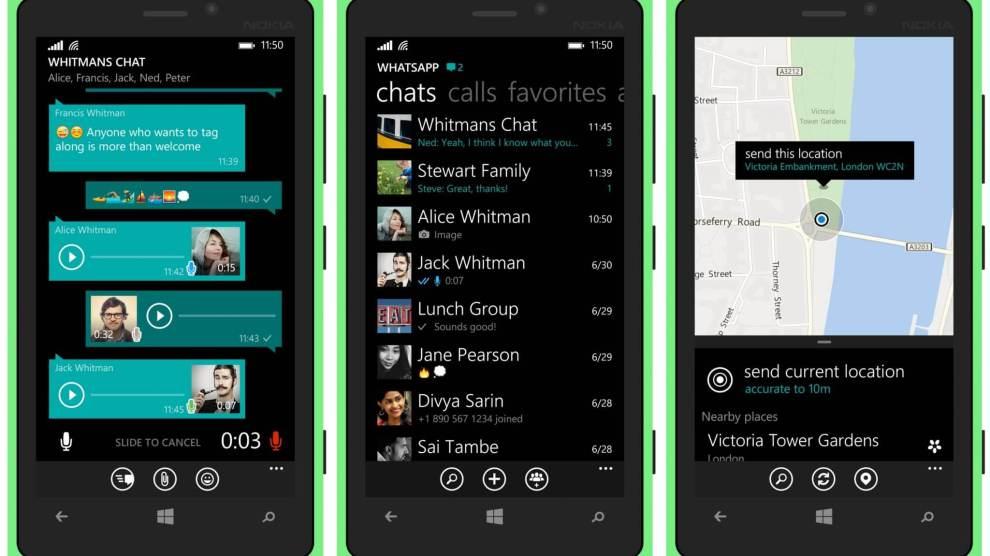 WhatsApp Beta para Windows 10 Mobile ganha suporte à