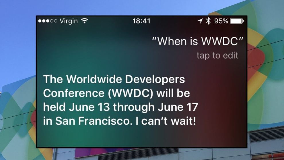 wwdc 2015 04 - Siri revela datas da WWDC 2016 (Atualizado: Apple confirma)