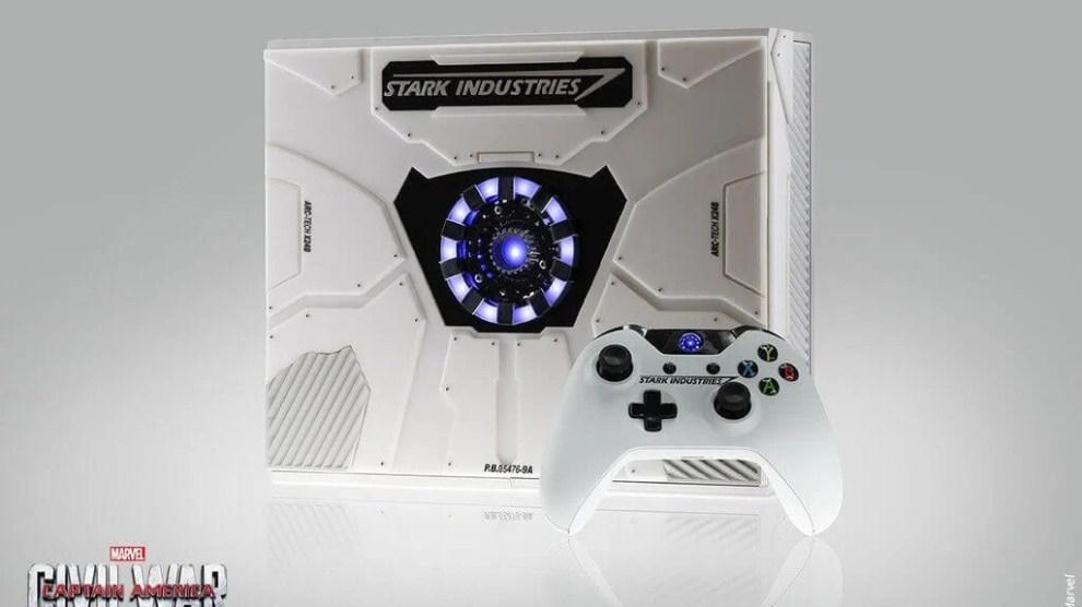 Não importa o seu time, você vai querer esse Xbox One especial do Homem de Ferro 6