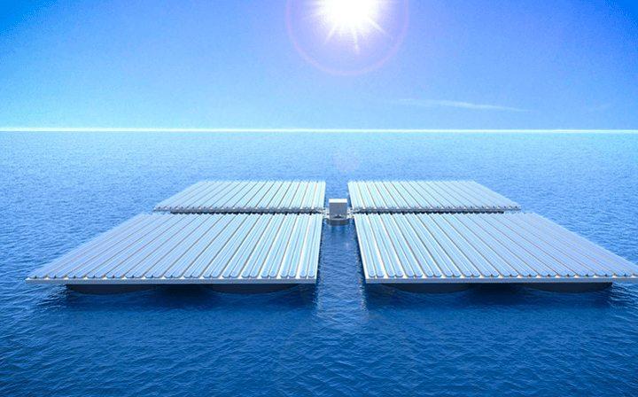 heliofloat - Engenheiros criaram plataformas que flutuam estáveis mesmo em mar agitado
