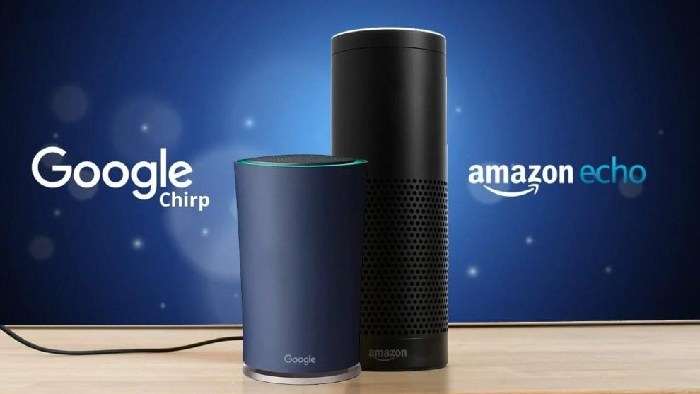 """smt shirp capa - Google prepara o """"Chirp"""" para rivalizar com o Amazon Echo"""