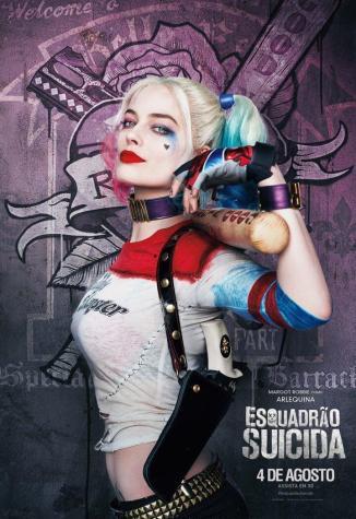 Esquadrao suicida character art arlequina