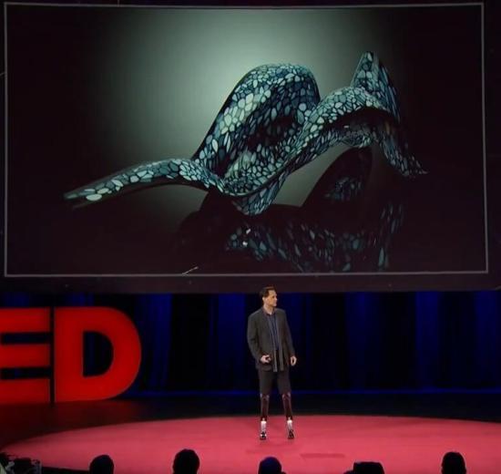TED Talks: Hugh Herr mostra que o homem biônico já existe 3