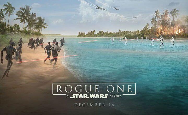 Rogue One Uma História Star Wars - Rogue One ganha vídeo de bastidores, pôster e Darth Vader volta em teaser