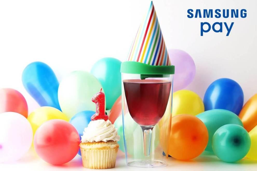 Samsung Pay P1 - Samsung Pay celebra um ano com a marca de 100 milhões de transações