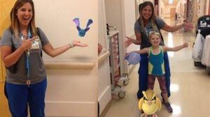 Hospital usa Pokémon Go para ajudar crianças internadas
