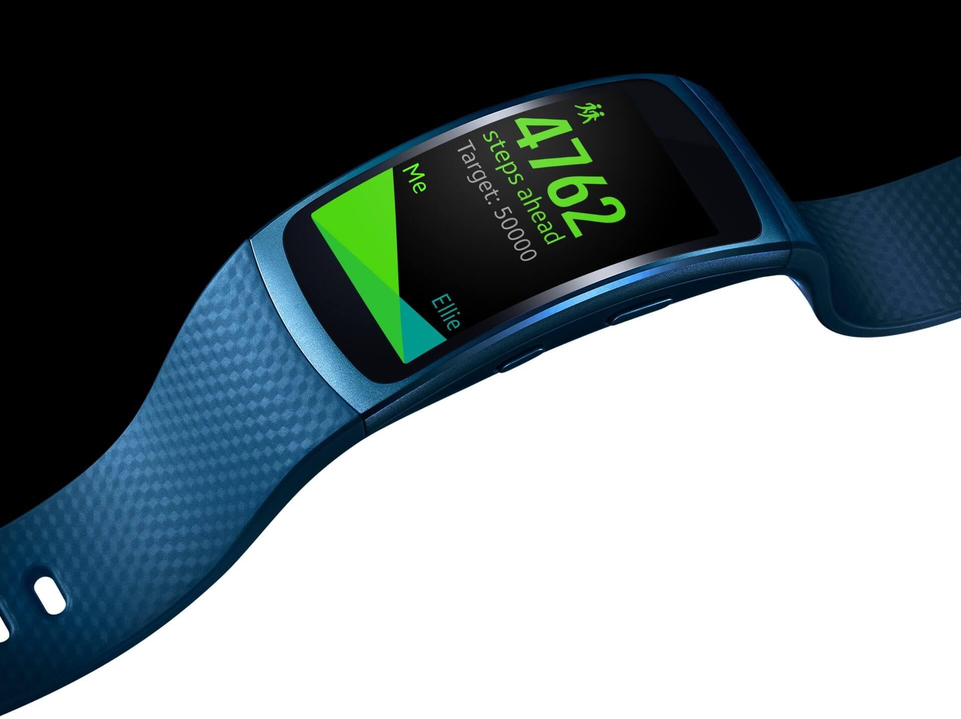 gear fit2 - Review: Samsung Gear Fit2, para monitorar atividades com estilo
