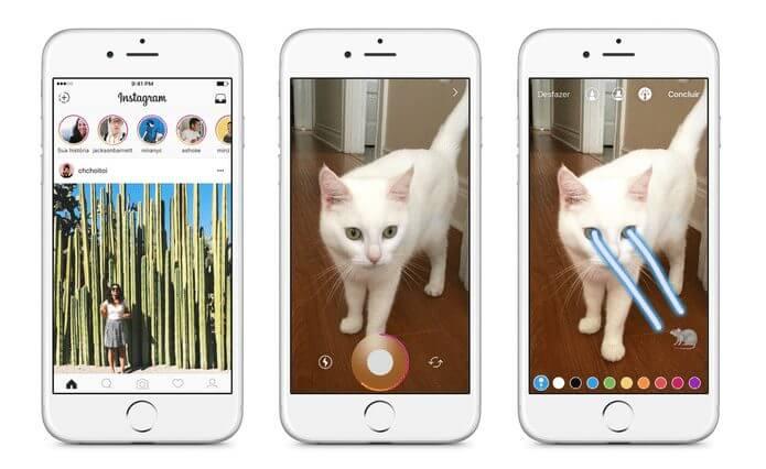 """screen shot 2016 08 02 at 12.20.55 pm 1 - Imagens que apagam em 24 horas: Instagram anuncia nova função """"Histórias"""""""