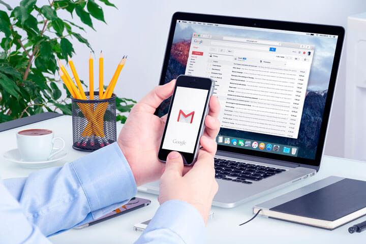 configurando seu e-mail no Gmail