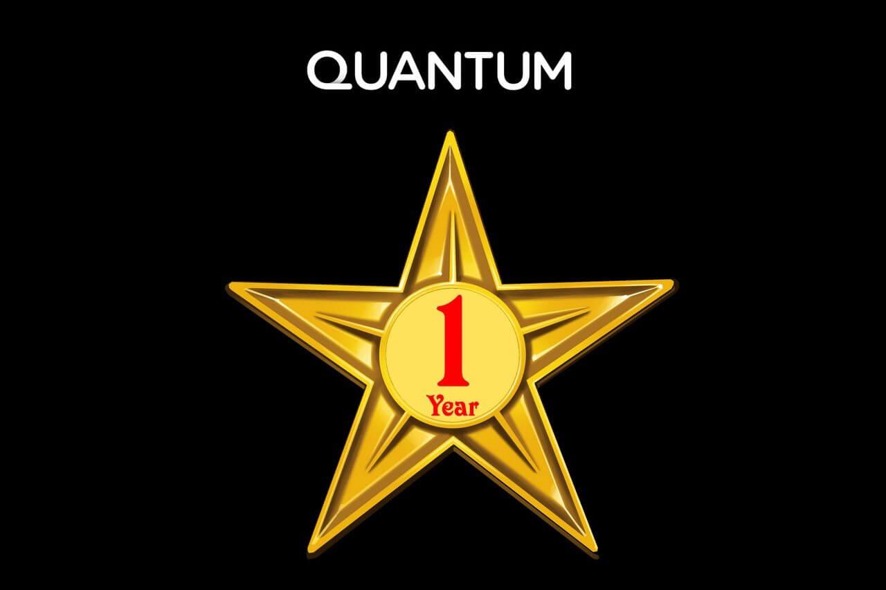 Quantum P0 - Quantum celebra primeiro ano de existência com novos anúncios no Brasil