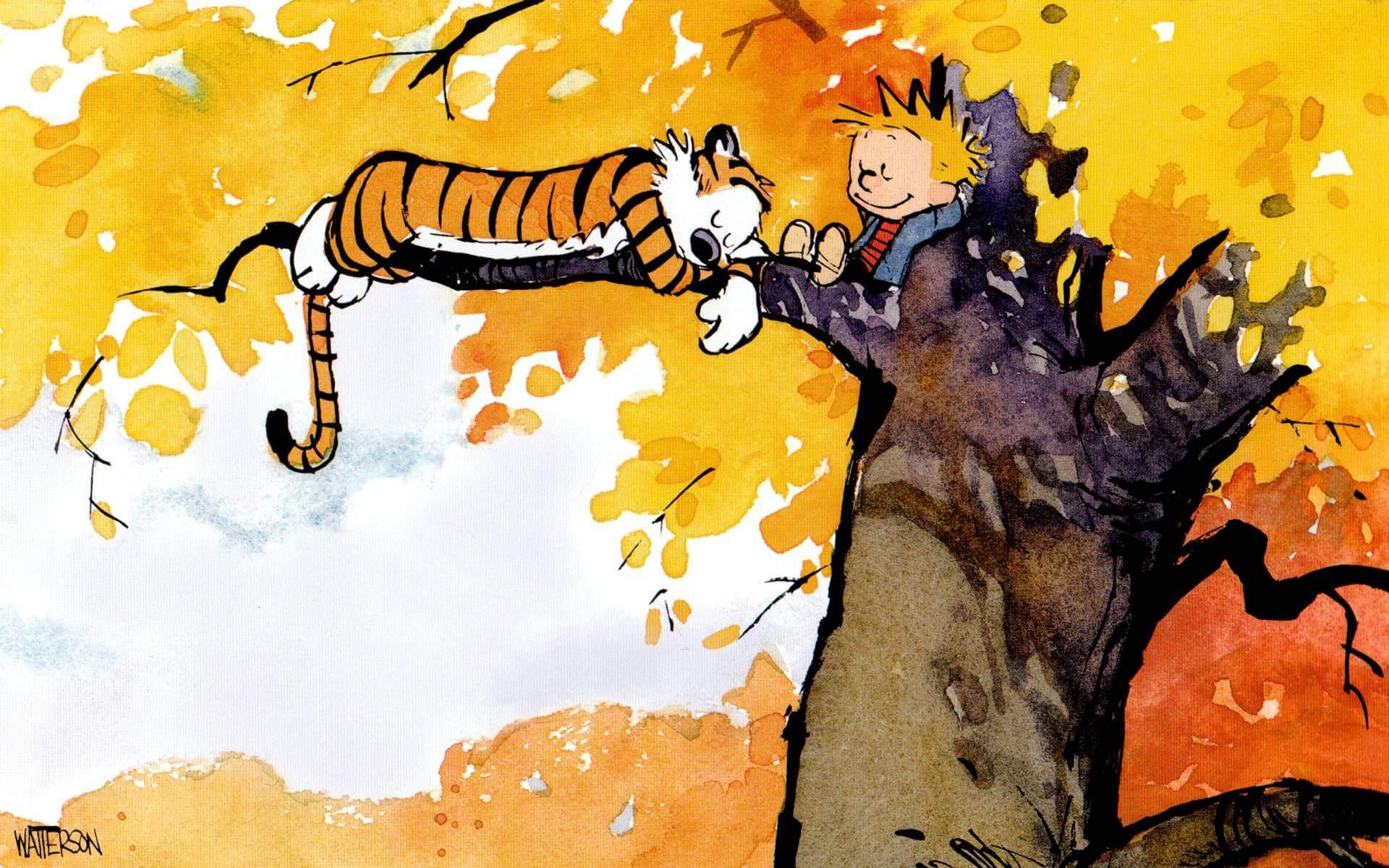 Calvin - Arte antes do Lucro: uma homenagem a Calvin & Hobbes