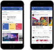 Recomendações 3 - Facebook anuncia novidades para aproximar as pessoas dos negócios