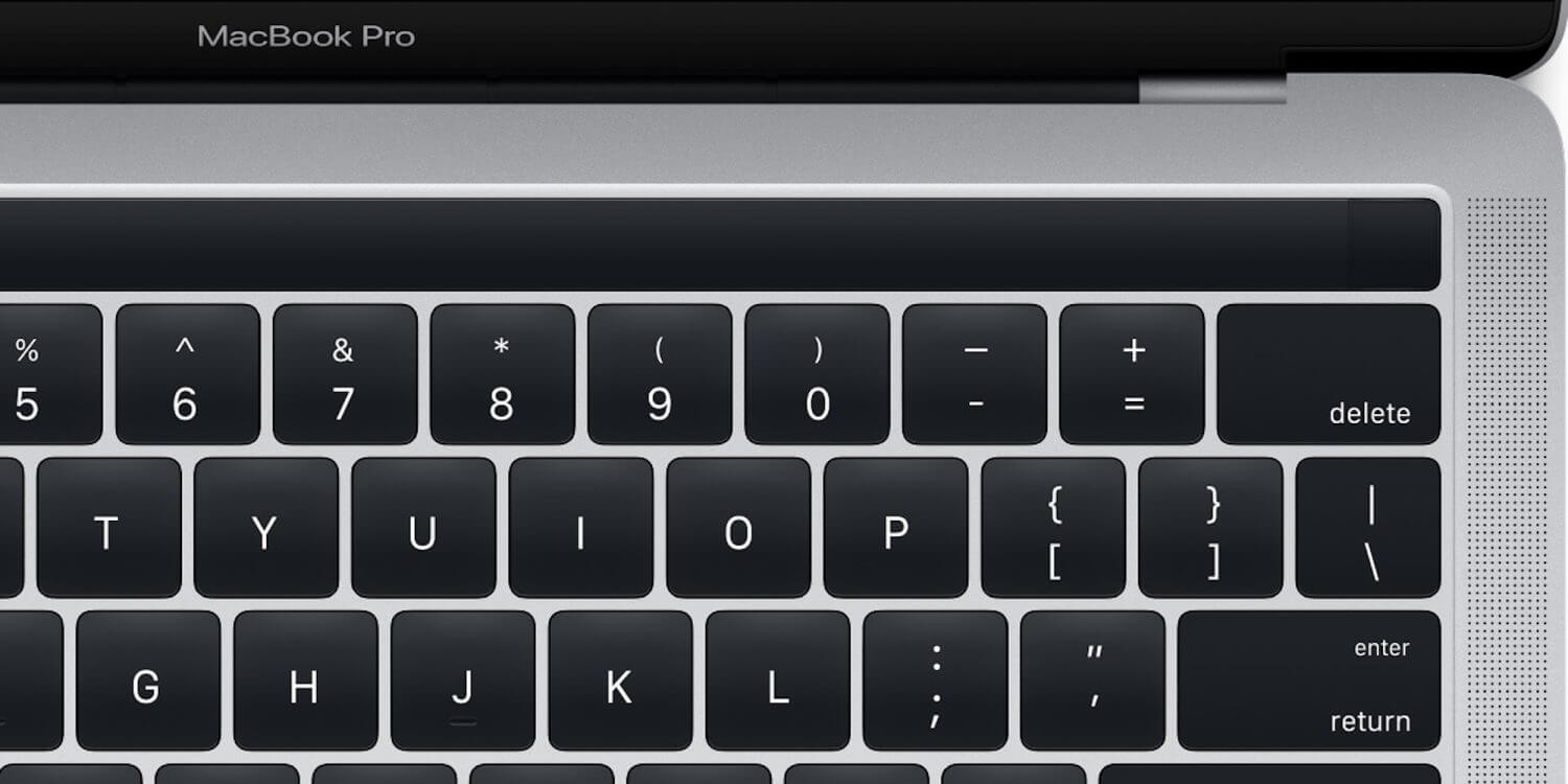 apple pay magic toolbar - De novo, Apple? Veja a imagem que vazou do novo MacBook Pro