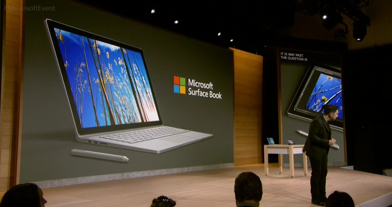 ms02 - Microsoft anuncia novo Surface Book, mais poderoso do que qualquer Macbook de 13 polegadas