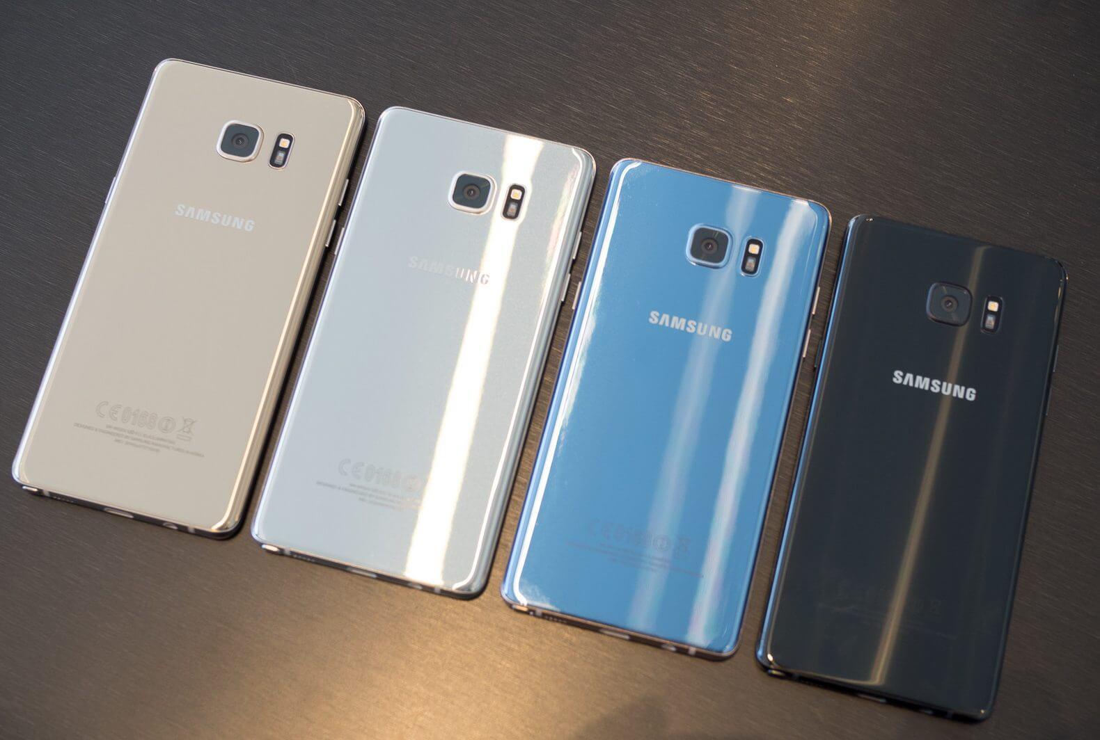 note 7 2 e1476109800149 - Samsung está para suspender a produção do Galaxy Note 7 depois de múltiplos modelos pegarem fogo