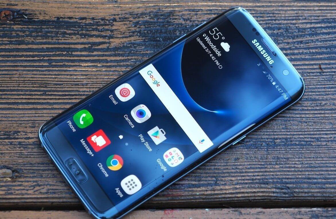 Galaxy S7 Edge Azul Coral Brasil Blue Coral  - Galaxy S7 e S7 Edge começam a receber Android 7.0 Nougat