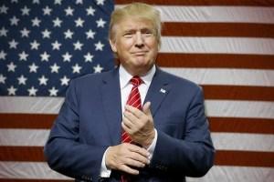 donald trump flag - [URGENTE] Donald Trump é eleito presidente dos Estados Unidos