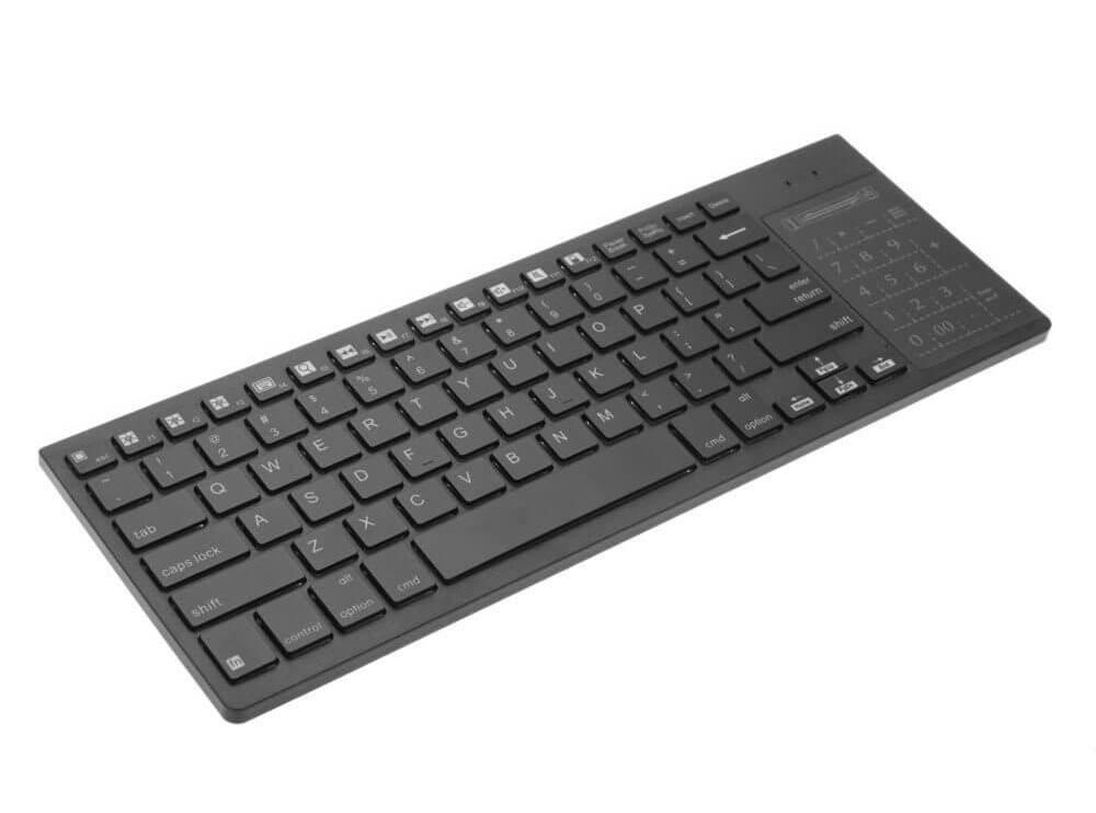 C2072 5 2f56 - Review: Teclado Sem Fio Touch iPazzPort