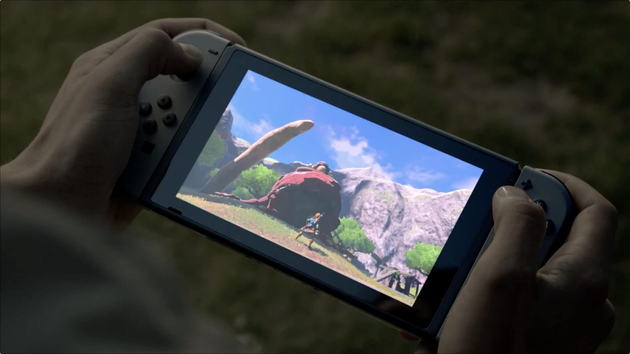 Nintendo Switch 10.0 - Hardware do Nintendo Switch não será capaz de rodar os jogos de última geração