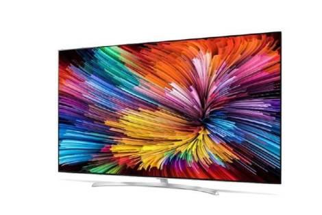 Smart TVs Super UHD da LG com Nano Cell frente - CES 2017: Smart TVs Super UHD com Nano Cell da LG são anunciadas
