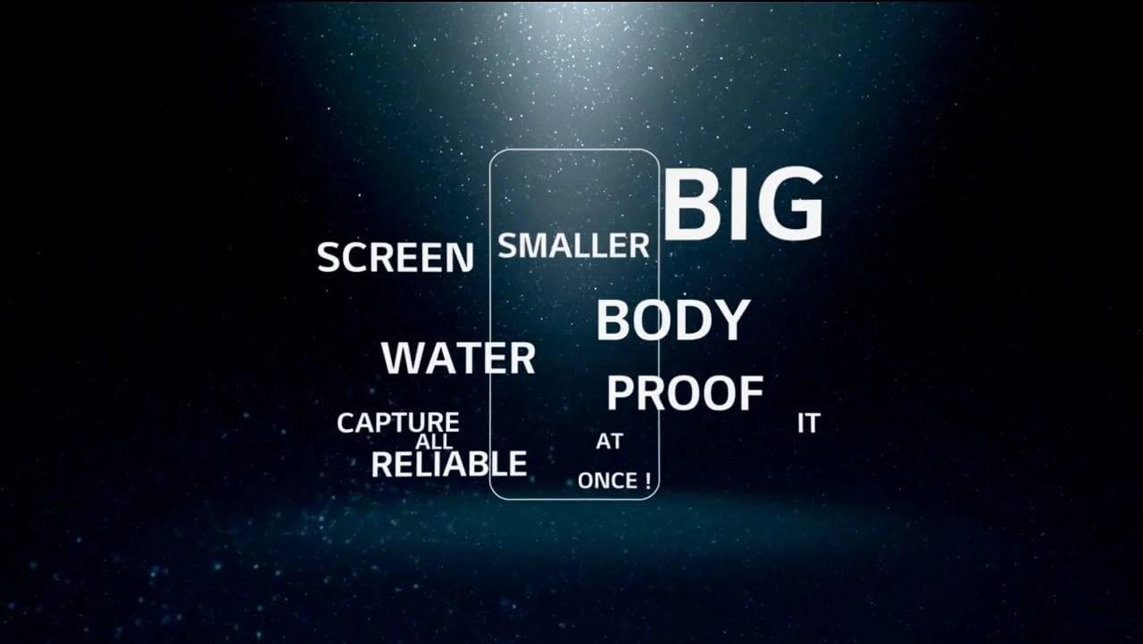 primeiro teaser LG G6 - Primeiro teaser do LG G6 revela características do aparelho