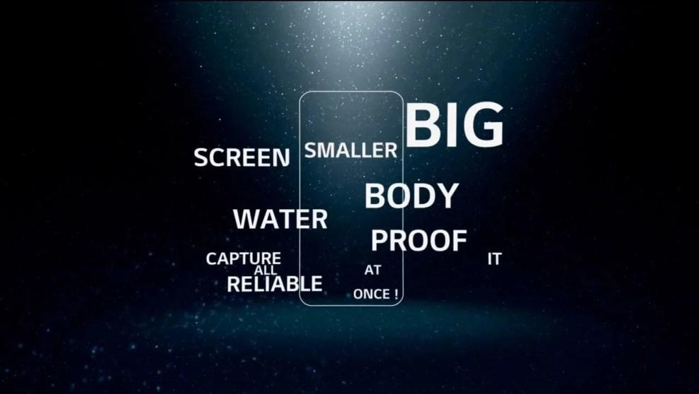 Primeiro teaser do LG G6
