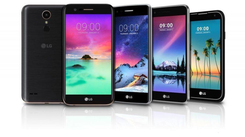 LG anuncia nova linha K no Brasil, com Android 7.0 e novo visual 6