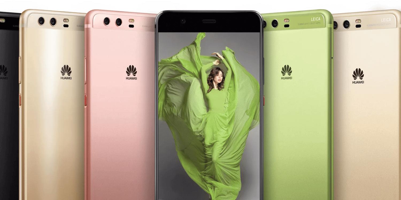 huawei p10 line e1488117742189 - MWC 2017: Huawei anuncia smartphones P10 e relógios inteligentes Watch 2