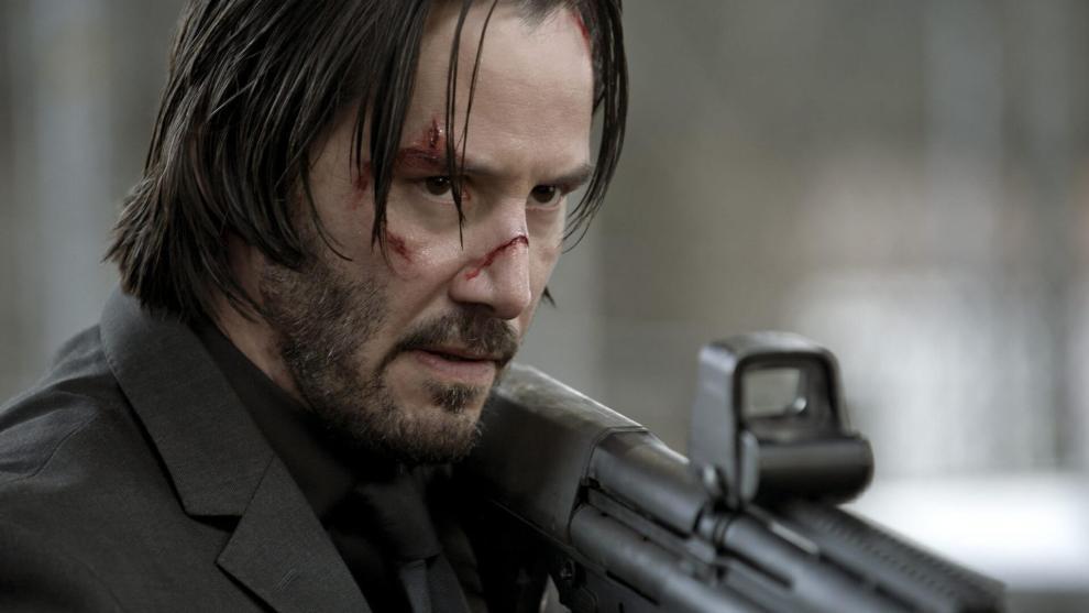 """john wick keanu reeves - Keanu Reeves e diretor de """"John Wick 2"""" já têm planos para um terceiro filme"""